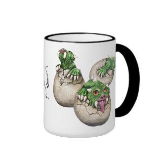 Hodag Babies black Ringer Coffee Mug