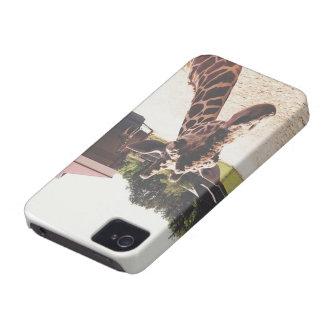 Hodari the Giraffe iPhone 4 Case-Mate Case