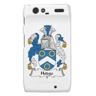 Hodge Family Crest Motorola Droid RAZR Cases