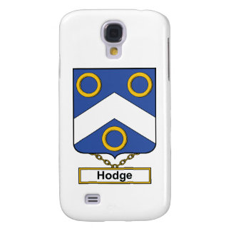 Hodge Family Crest Samsung Galaxy S4 Cases