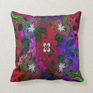 Hodge Podge Floral Abstract Pillow
