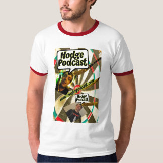 Hodgepodcast Darts Ringer Tee