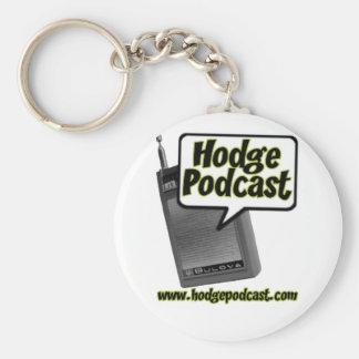 Hodgepodcast Keychain