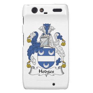Hodges Family Crest Droid RAZR Cover