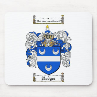 HODGES FAMILY CREST -  HODGES COAT OF ARMS MOUSE PAD