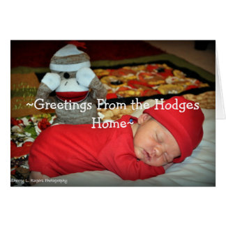 Hodges Greeting Card
