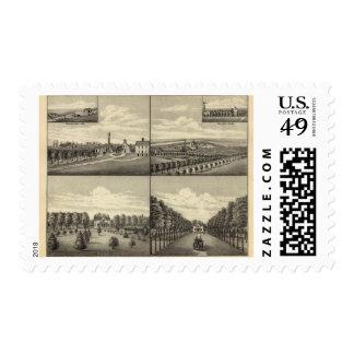 Hodges Home, Nebraska Stamps