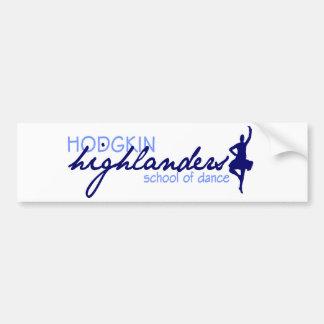 Hodgkin Highlanders Bumper Sticker