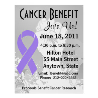Hodgkin Lymphoma Cancer Personalized Benefit Flyer