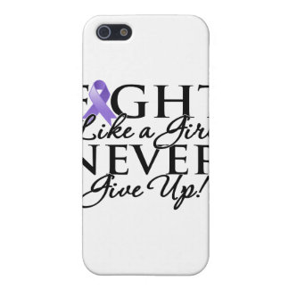 Hodgkin Lymphoma Fight Like a Girl Never Give Up iPhone 5 Cover