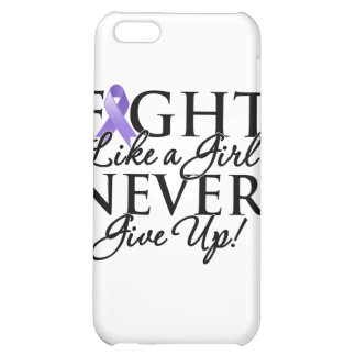 Hodgkin Lymphoma Fight Like a Girl Never Give Up iPhone 5C Cases