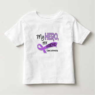 Hodgkin's Lymphoma MY HERO MY FRIEND 42 T-shirt