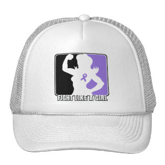 Hodgkin s Lymphoma Strength Fight Like A Girl Trucker Hat