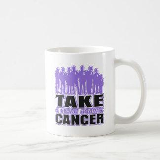Hodgkin s Lymphoma -Take A Stand Against Cancer Coffee Mug