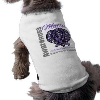 Hodgkin s Lymphoma Tribute - Hodgkin s Disease Doggie T-shirt