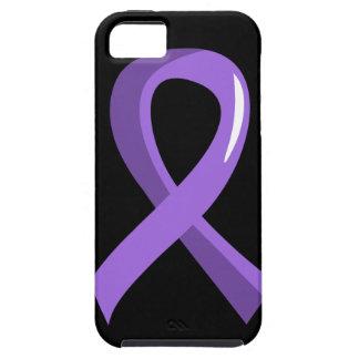 Hodgkin s Lymphoma Violet Ribbon 3 iPhone 5 Cases