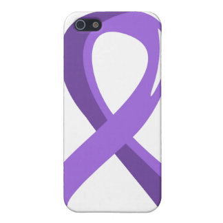 Hodgkin s Lymphoma Violet Ribbon 3 Cases For iPhone 5