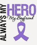 Hodgkin's Disease Boyfriend Always My Hero T-shirt