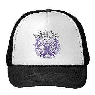 Hodgkins Disease Butterfly 3 Trucker Hat