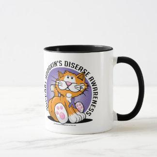 Hodgkin's Disease Cat Mug