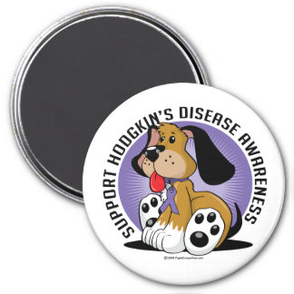 Hodgkin's Disease Dog Magnet