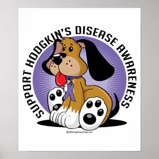 Hodgkin's Disease Dog Poster