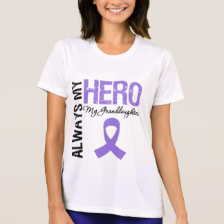 Hodgkin's Disease Granddaughter Always My Hero Shirt