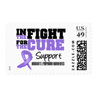 Hodgkin's Disease In The Fight For The Cure Postage Stamp