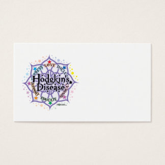 Hodgkin's Disease Lotus Business Card