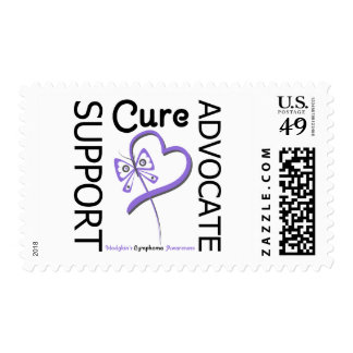 Hodgkins Disease Support Advocate Cure Postage Stamp