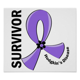 Hodgkin's Disease Survivor 12 Print