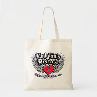 Hodgkin's Disease Wings Tote Bag