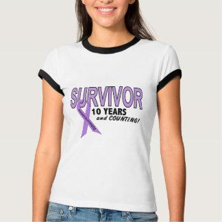 Hodgkins Lymphoma 10 Year Survivor T-Shirt