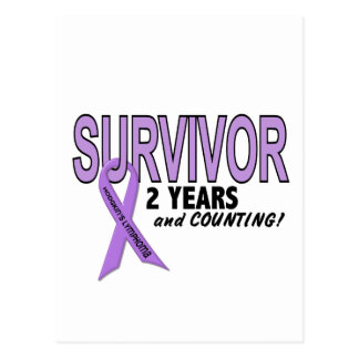 Hodgkins Lymphoma 2 Year Survivor Postcard