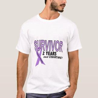Hodgkins Lymphoma 2 Year Survivor T-Shirt