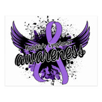 Hodgkin's Lymphoma Awareness 16 Postcard