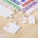 Hodgkin's Lymphoma  Awareness Collage Jigsaw Puzzles