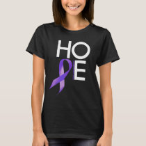 Hodgkin's lymphoma Awareness HOPE T-Shirt