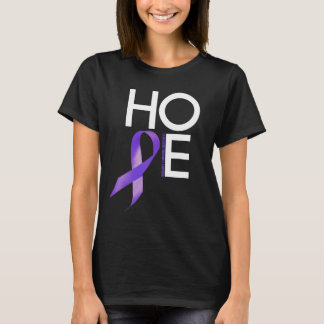 Hodgkin's lymphoma Awareness HOPE T-Shirt