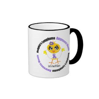 Hodgkins Lymphoma Awareness Month Lets Find A Cure Ringer Coffee Mug