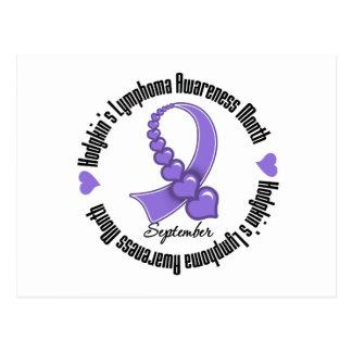 Hodgkins Lymphoma AWARENESS Month Postcard