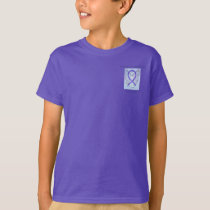 Hodgkins Lymphoma Awareness Ribbon Angel Tee