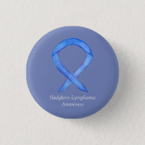 Hodgkins Lymphoma Awareness Ribbon Custom HL Pins