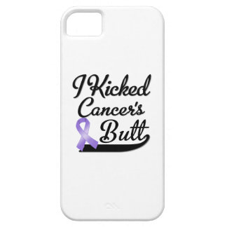 Hodgkins Lymphoma Cancer I Kicked Butt iPhone SE/5/5s Case