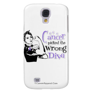 Hodgkins Lymphoma Cancer Picked The Wrong Diva Samsung Galaxy S4 Covers