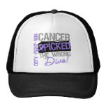 Hodgkins Lymphoma Cancer Picked The Wrong Diva Trucker Hats