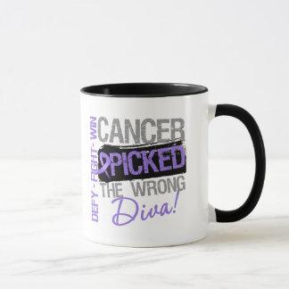 Hodgkins Lymphoma Cancer Picked The Wrong Diva Mug