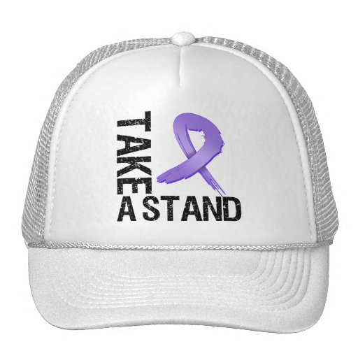 Hodgkin's Lymphoma Cancer Take A Stand Mesh Hats
