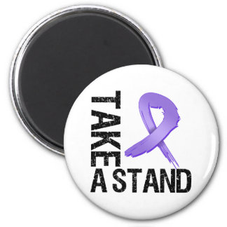 Hodgkin's Lymphoma Cancer Take A Stand Fridge Magnet