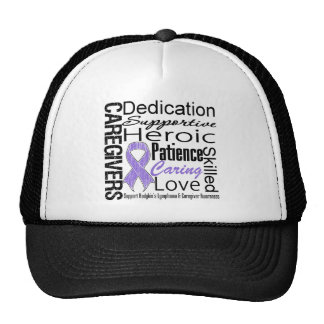 Hodgkins Lymphoma Caregivers Collage Trucker Hat